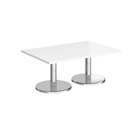 Square Coffee Table - 1200 - White