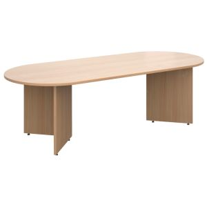 Radial End Meeting Table 2400