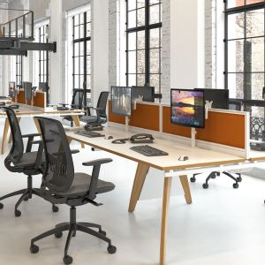 Fuze Stylish Bench Desking