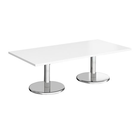 Square Coffee Table - 1600 - White