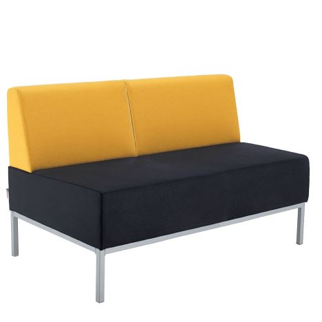 Kraft Modular Soft Seating - with Double Bench Back Fully Upholstered