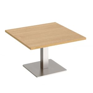 Brescia - Square Coffee Table with Flat Square Base