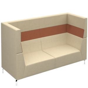 Alban - Soft Seating Range with Chrome Legs