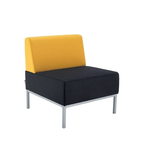 Kraft Modular Soft Seating - with Single Bench Back Fully Upholstered